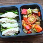 Филе куриное Су-вид с овощами гриль