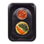 Фриттата с грибами и соусом