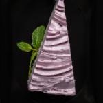 Рисовый пудинг с ягодно-творожным кремом
