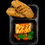 Тофу-гриль с овощным рагу